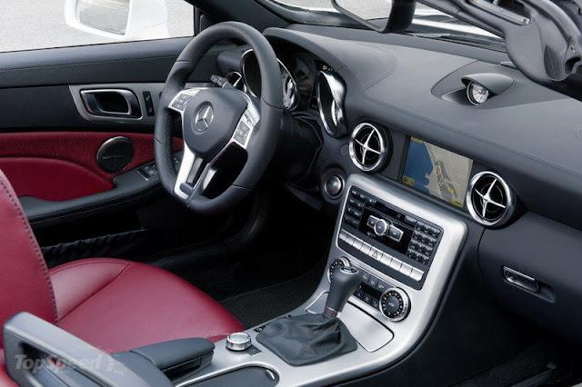 2012 Mercedes SLK 250 CDI Interior