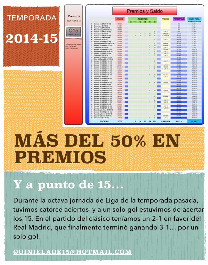 TEMPORADA 2014-15