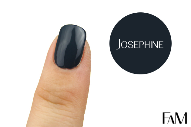 Julep Maven Nail Polish - Josephine - It girl - Review and Swatches navy nail polish