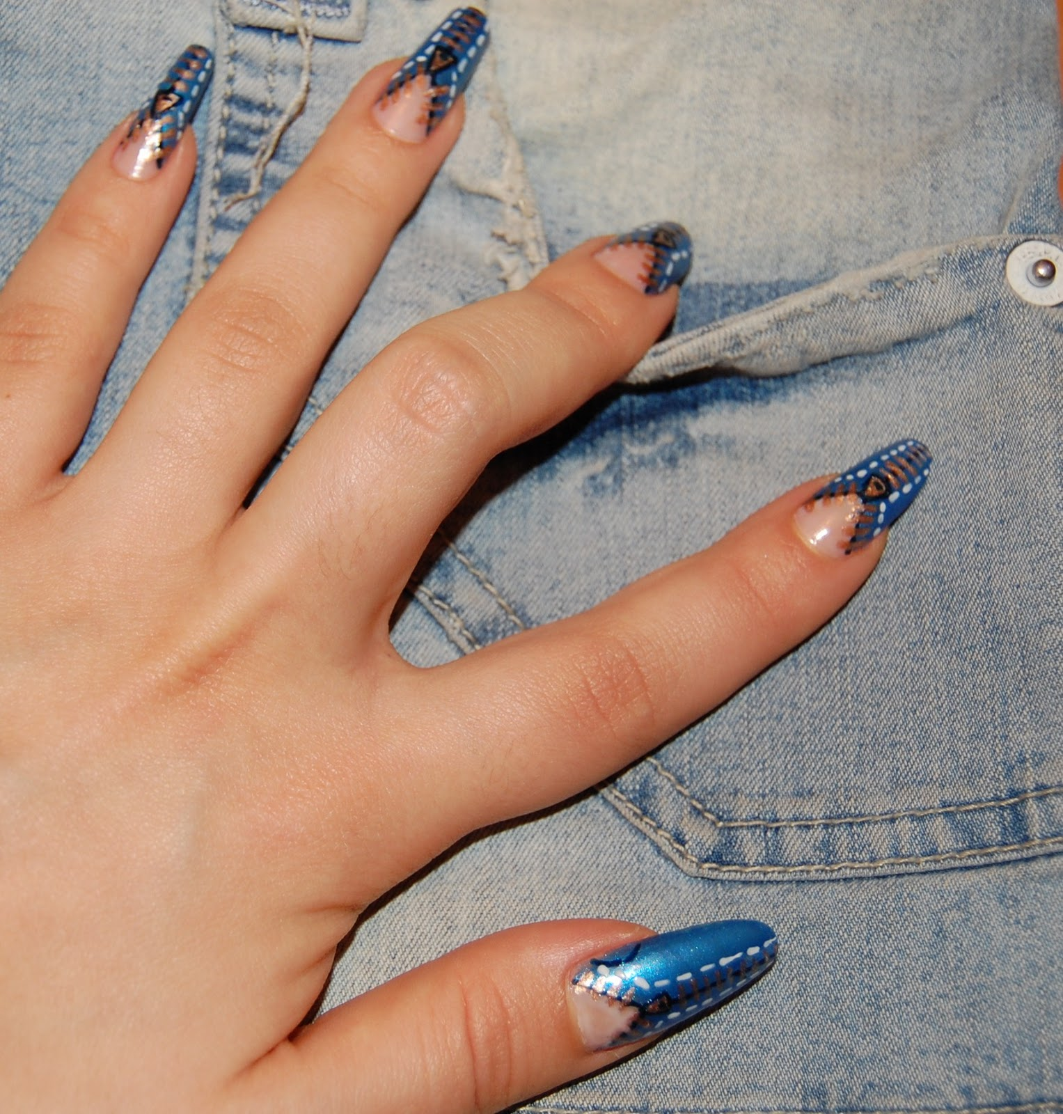 in the jungle of fashion: Nail Art #5 \
