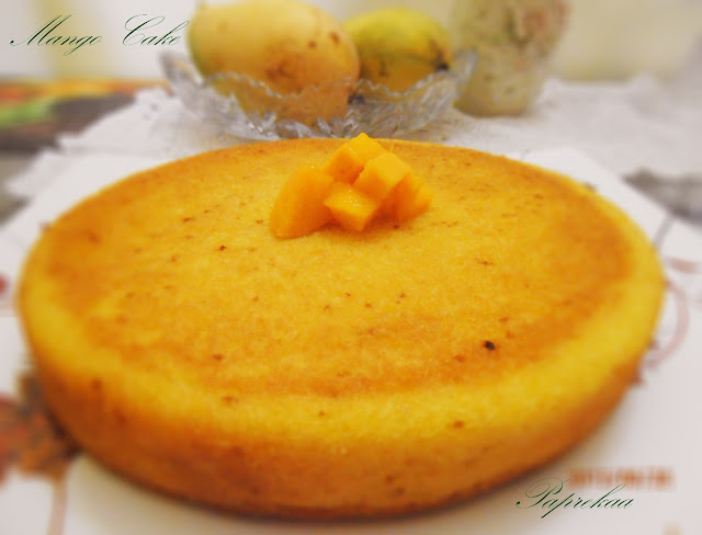 Paprekaa - Bon Appetit !!!: Mango Cake