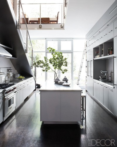 Decoraci n de cocinas de color blanco decoracion de dormitorios - Cocinas de color blanco ...