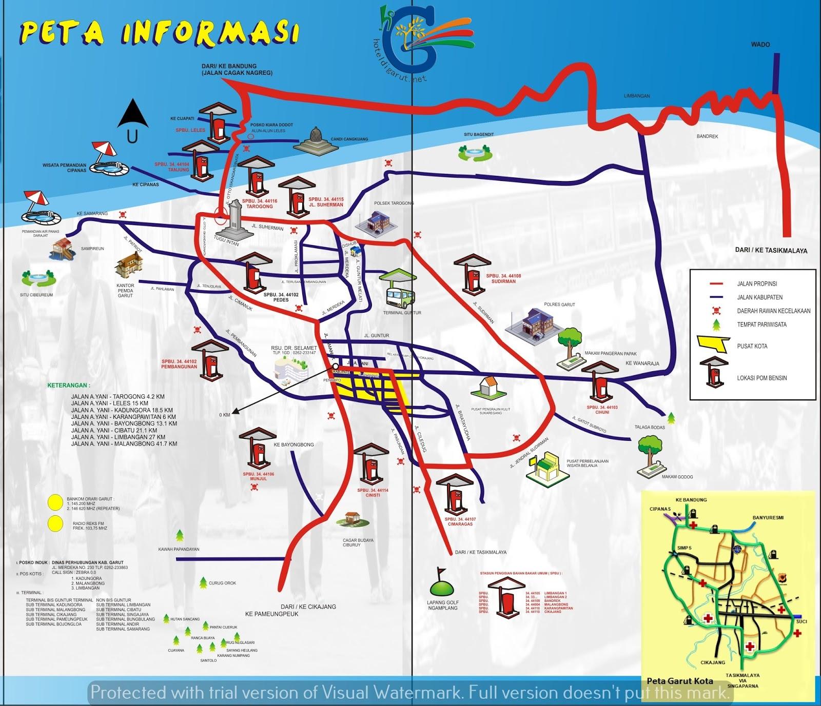 Map Bandung Bekasi