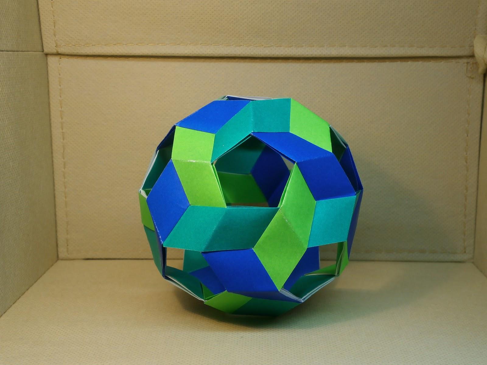 katakoto origami unit origami ball