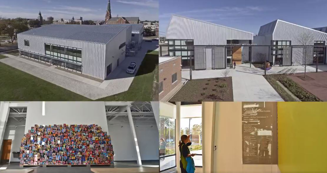 Knox College - Dick & Joan Whitcomb Art Center - Galesburg, IL - Construction Progression Video