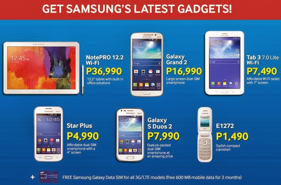 Samsung galaxy valentines sale and price drop promo 2014 for O tablet price list 2014