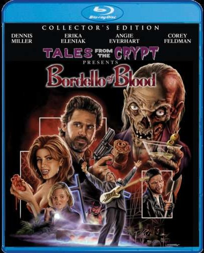 Tales From the Crypt Presents Bordello of Blood Blu-ray cover