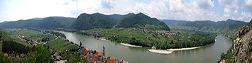 Vistas del Danubio en Wachau
