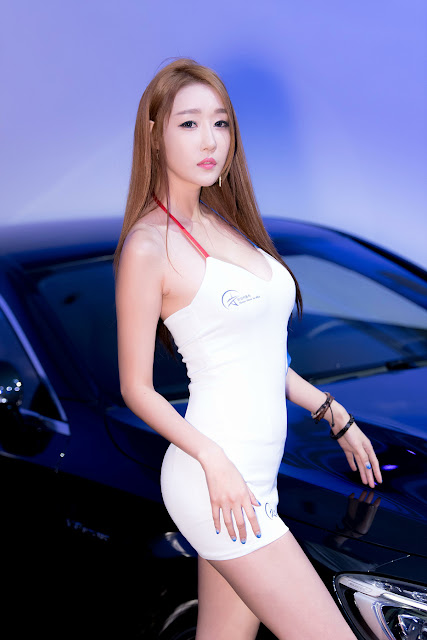 3 Yee Ah Rin - Hansung Motor Show - very cute asian girl-girlcute4u.blogspot.com