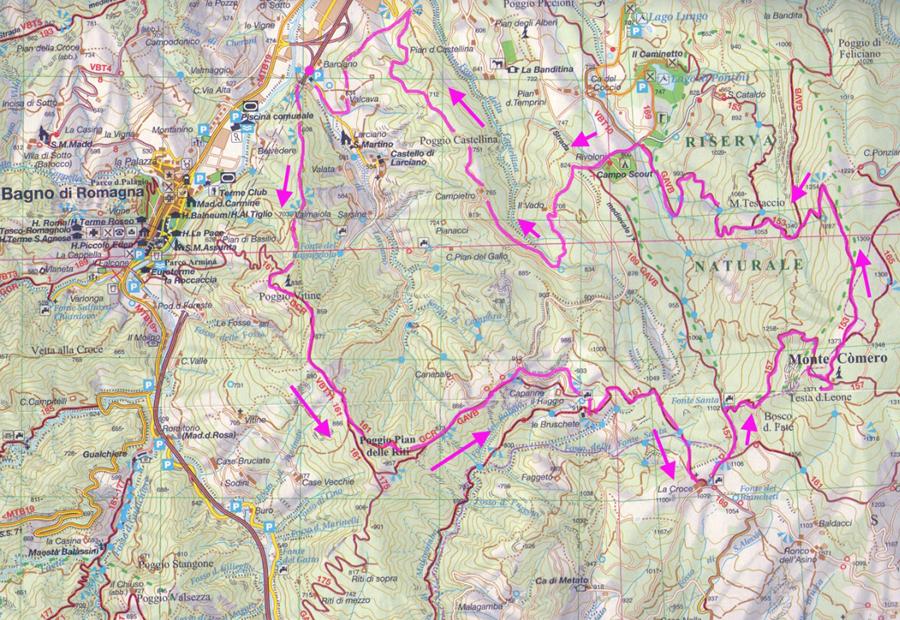 Escursionismo a 360°: Monte Comero (da Larciano) E-EE