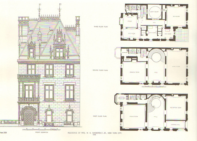 The gilded age era a view of willie vanderbilt jr 39 s new Aging in place home plans