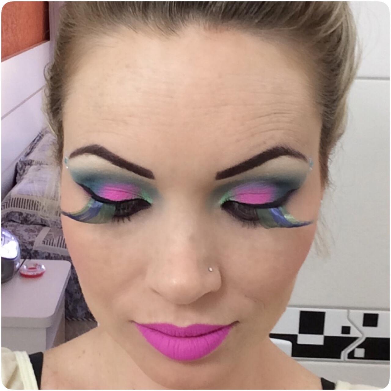 dica, inspiração de maquiagem para o carnaval ... maquiadora Jennifer Malosti