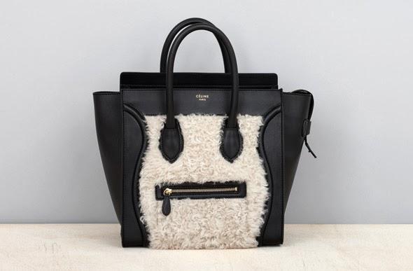 Celine fur bag