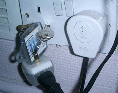 Branchement électrique dangereux