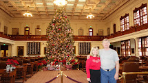 Texas State Capitol Christmas Tree