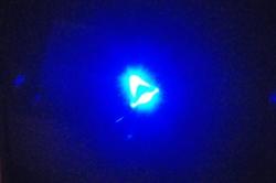 Ein blaues Licht...