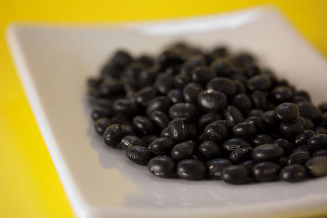 Nuclear black soybeans