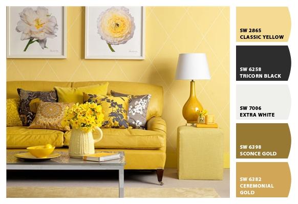 Hice Del Baño Color Amarillo:En sus tonalidades oscuras tiende a generar sentimientos de tristeza