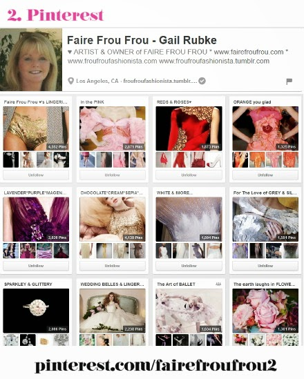 Find Faire Frou Frou on Pinterest #fairefroufrou2 (Gail Rubke)