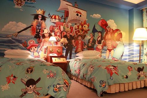 Quarto One Piece  Irmãs Otome