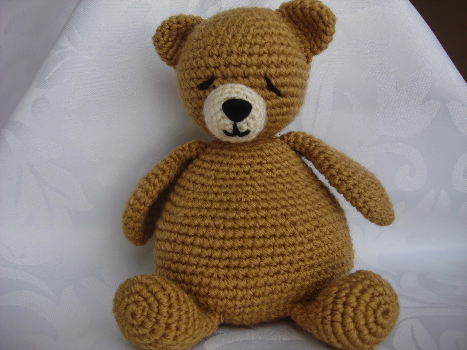 Osito Amigurumi Tutorial Canal Crochet : CANAL CROCHET: osito amigurumi