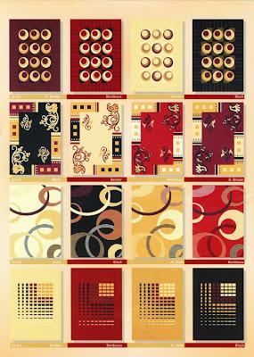 jenis gambar karpet moderno / paragon