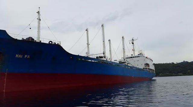 MV Hai Fa Masuk Dalam Daftar Hitam Greenpeace