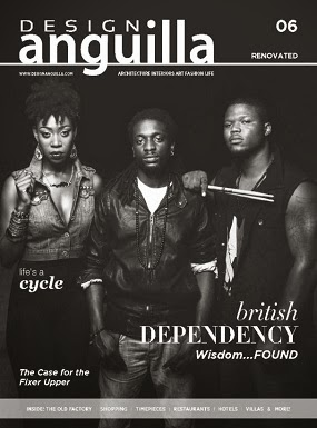 BRITISH DEPENDENCY FEATURED ON THE COVER OF THE FEBRUARY ISSUE OF DESIGN ANGUILLA MAGAZINE!