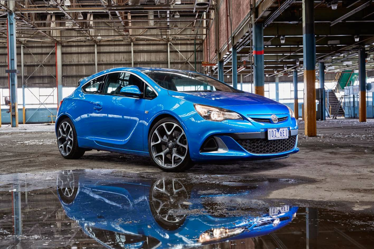 Aggressive looking new Holden Astra VXR