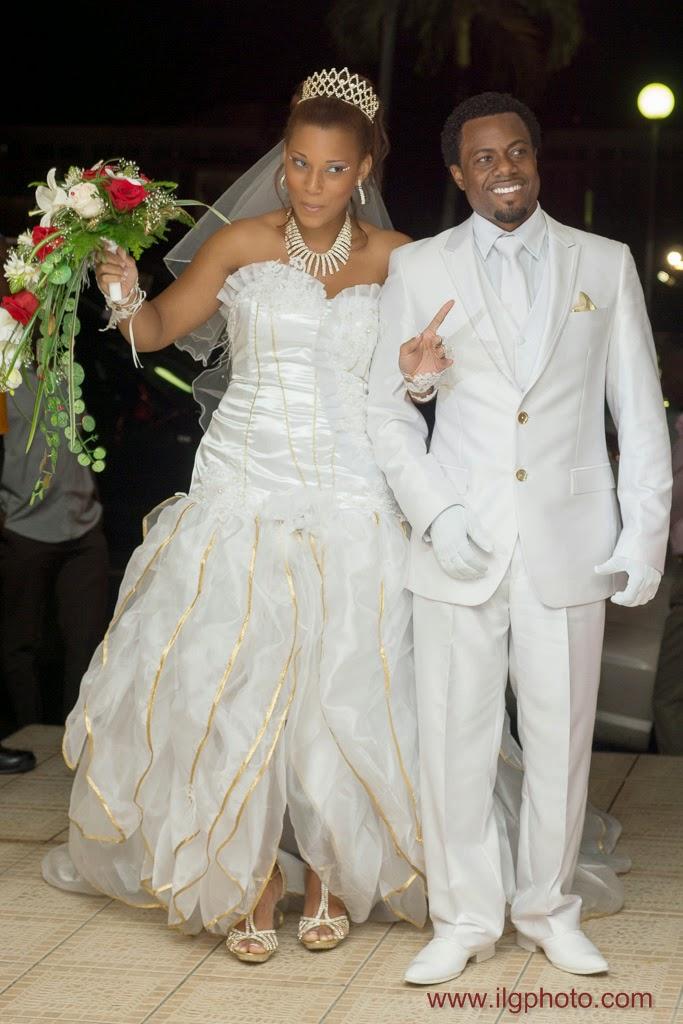 Mariage de Steffy et Manuel: réception, entrée des mariés