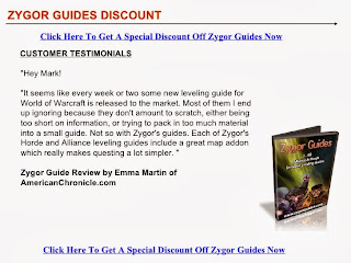 discount on zygor guides
