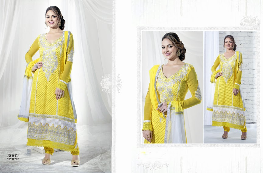 Zohra – Esha Deol Gorgeous Pakistani Style Salwar Suits Collection