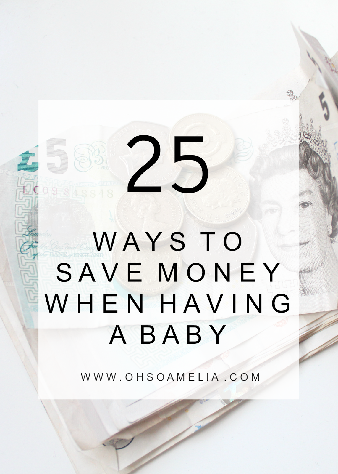 25 Ways To Save When Having A Baby