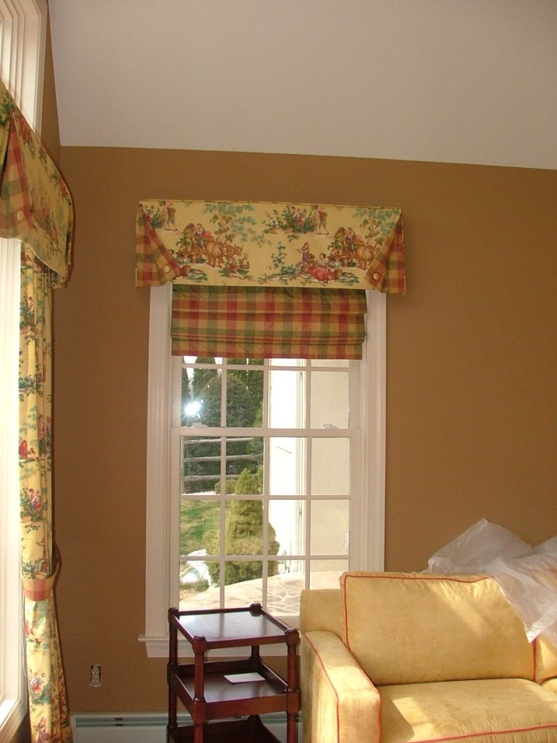 Custom Window Treatments By Why Sew Serious Roman Shades