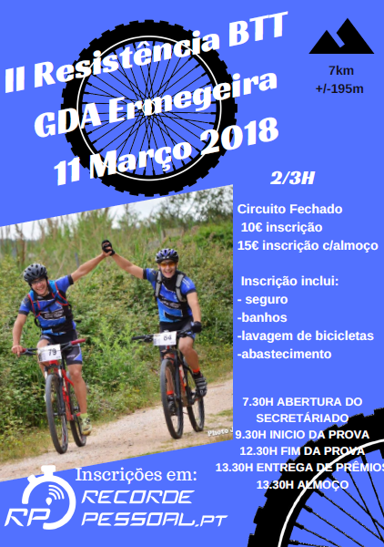 11MAR * ERMEGEIRA – TORRES VEDRAS