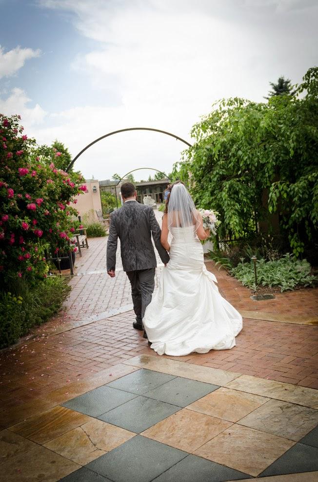 Denver Botanic gardens wedding