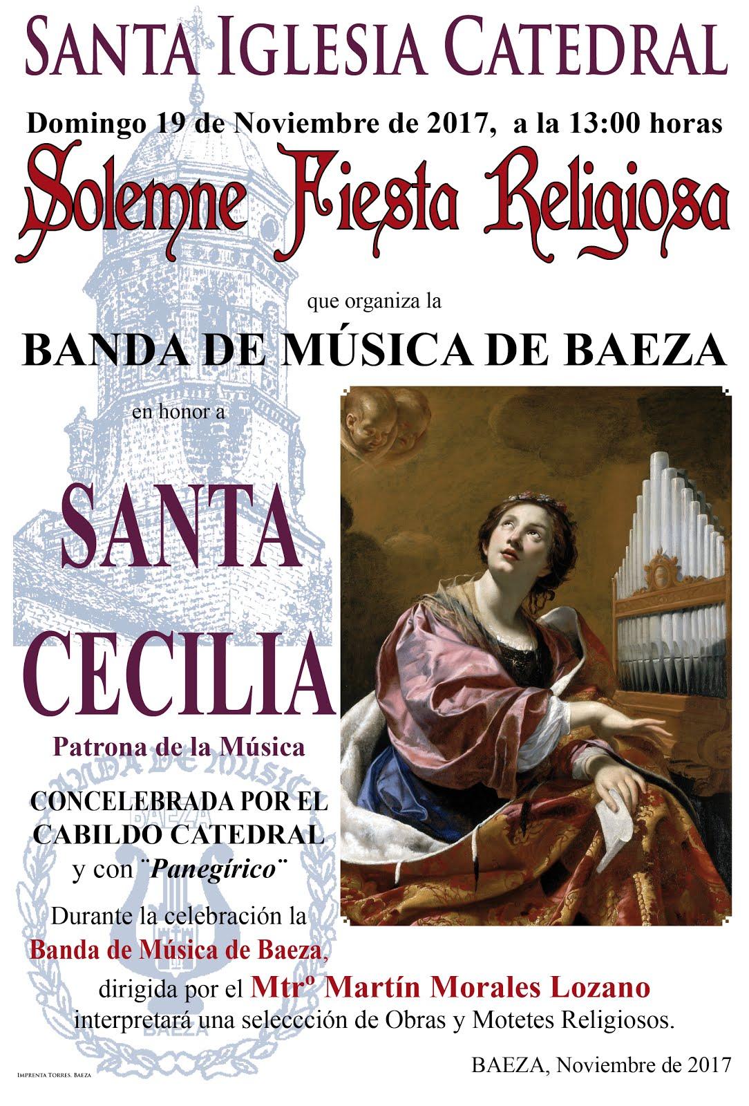 MISA EN HONOR A SANTA CECILIA 2017