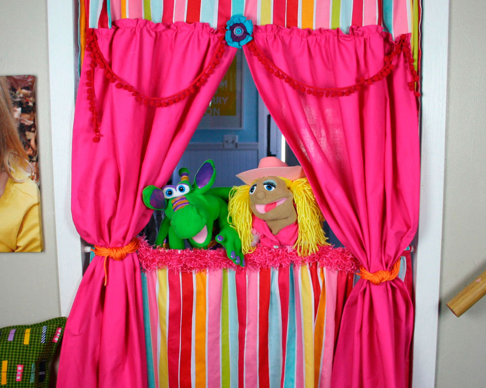 Кулисы для кукольного театра своими руками 96