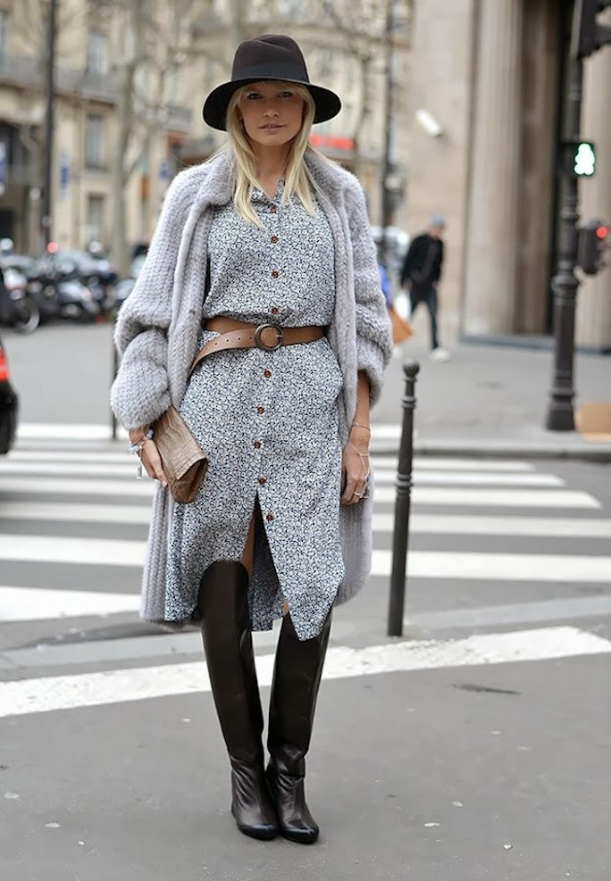 A Bit Of Sass Street Style Inspired Winter Boho