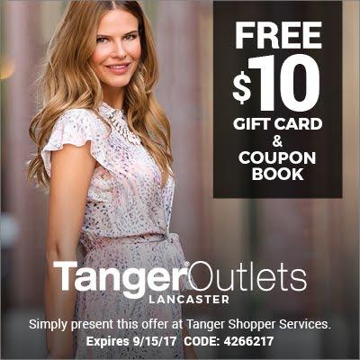 Our sponsor, Tanger Outlets
