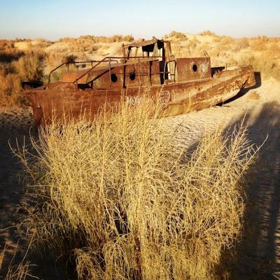 sequía en Aral