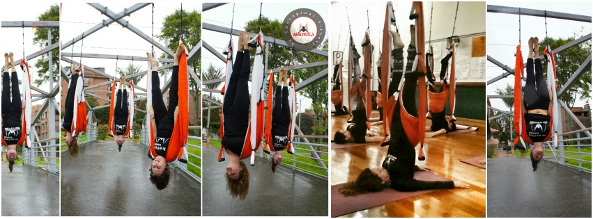 PILATES DANS L'AIR
