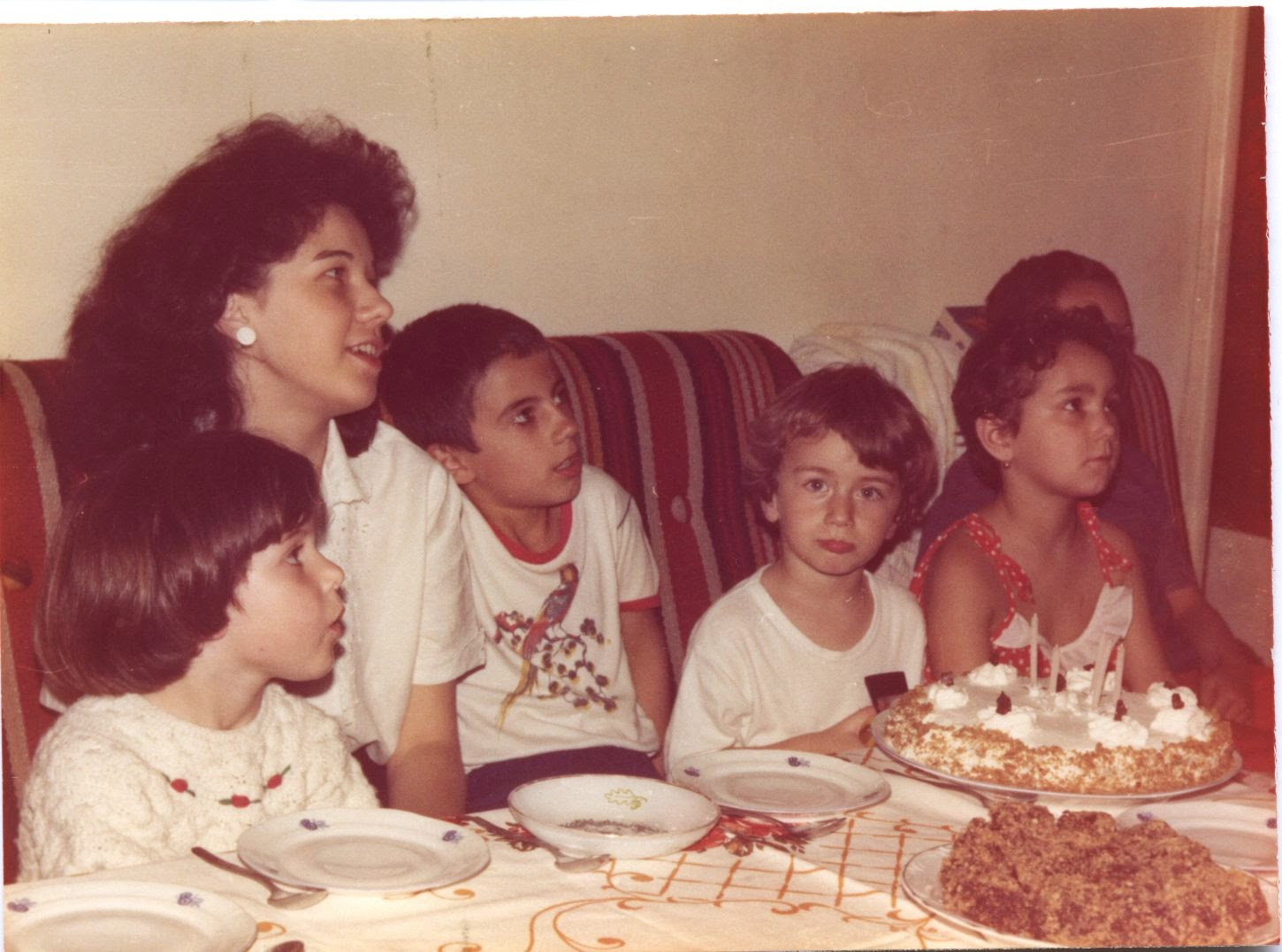 Olivia Maria, Silviu Marcov, Silviu Jr.Craciunas, Irina's Birthday, May 17, 1985 Bucharest