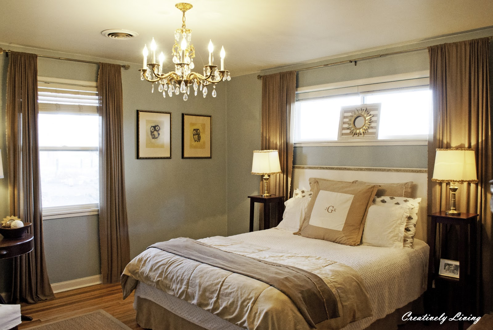from gardners 2 bergers reader feater romantic bedroom reveal. Black Bedroom Furniture Sets. Home Design Ideas