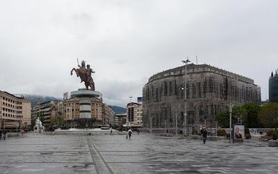 Ονόμασαν «Αλέξανδρο» το μουσείο των Σκοπίων