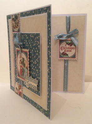 Christmas Carol Card by Clare Charvill Graphic 45