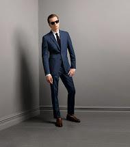 Navy Blue Summer Suits for Men