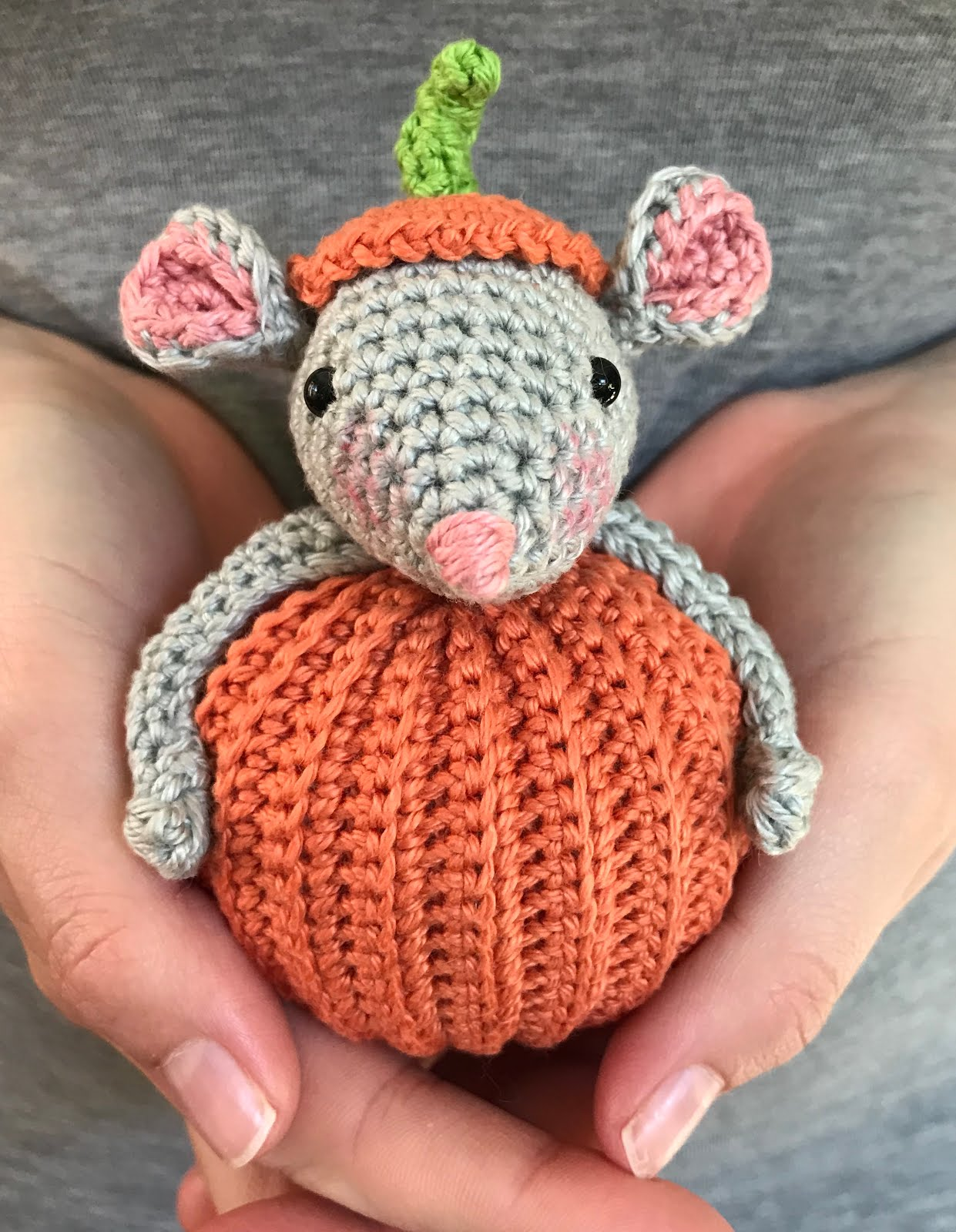 Pumpkin Mouse Pattern