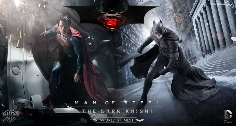 Man Of Steel And Dark Knight