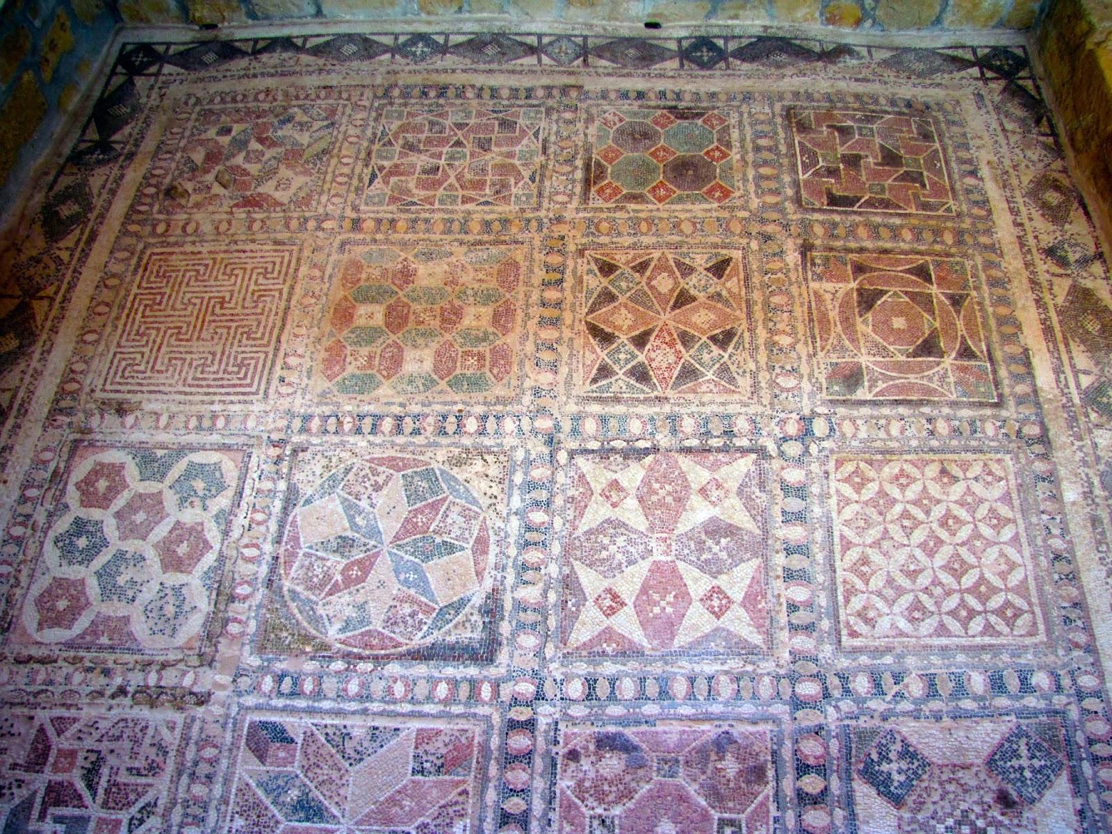 Chipre - Pafos - Mosaico de la casa de Dionisos